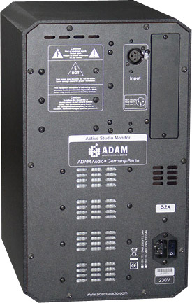 Adam Audio S2X Pair Rear View