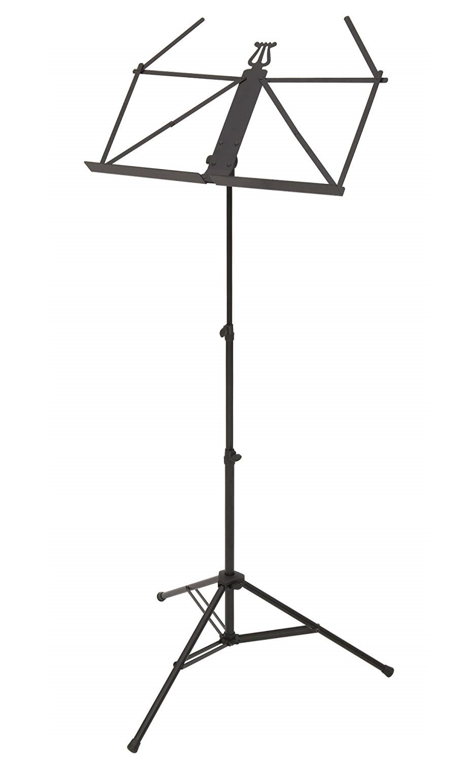 Ruka Ultra Lightweight Music Stand  - Black