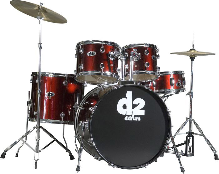 Ddrums D2 Blood Red