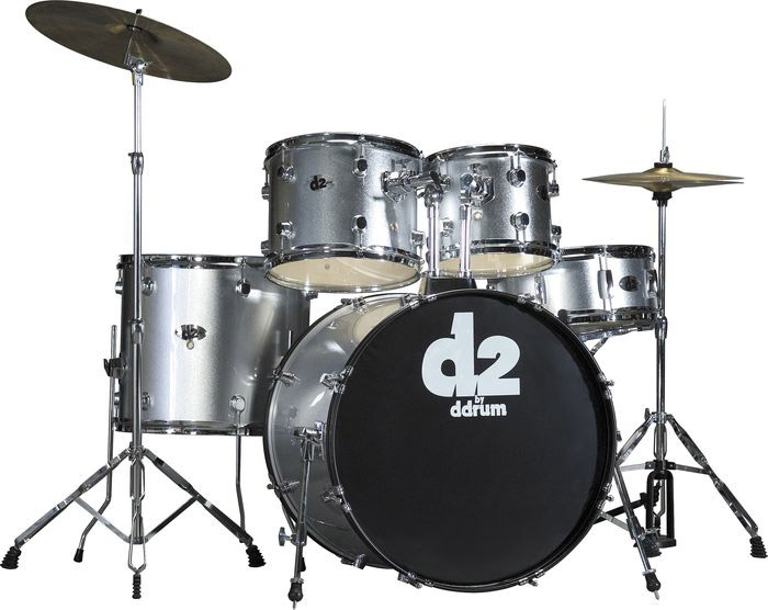 Ddrums D2 Brushed Silver