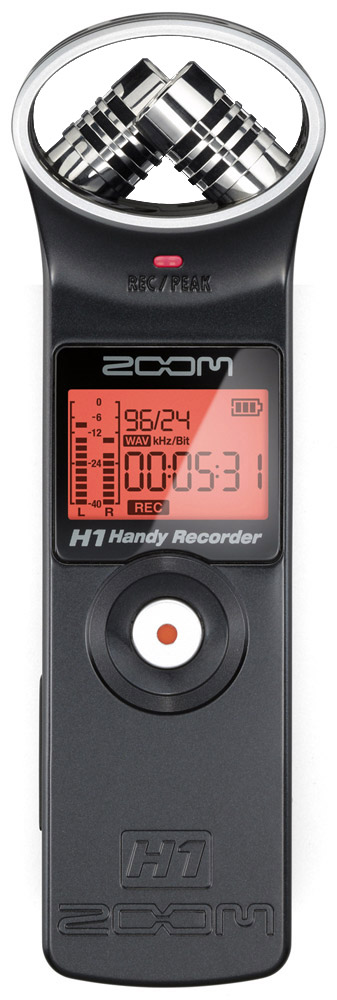 Zoom H1 Recording Bundle H1 Recorder Front