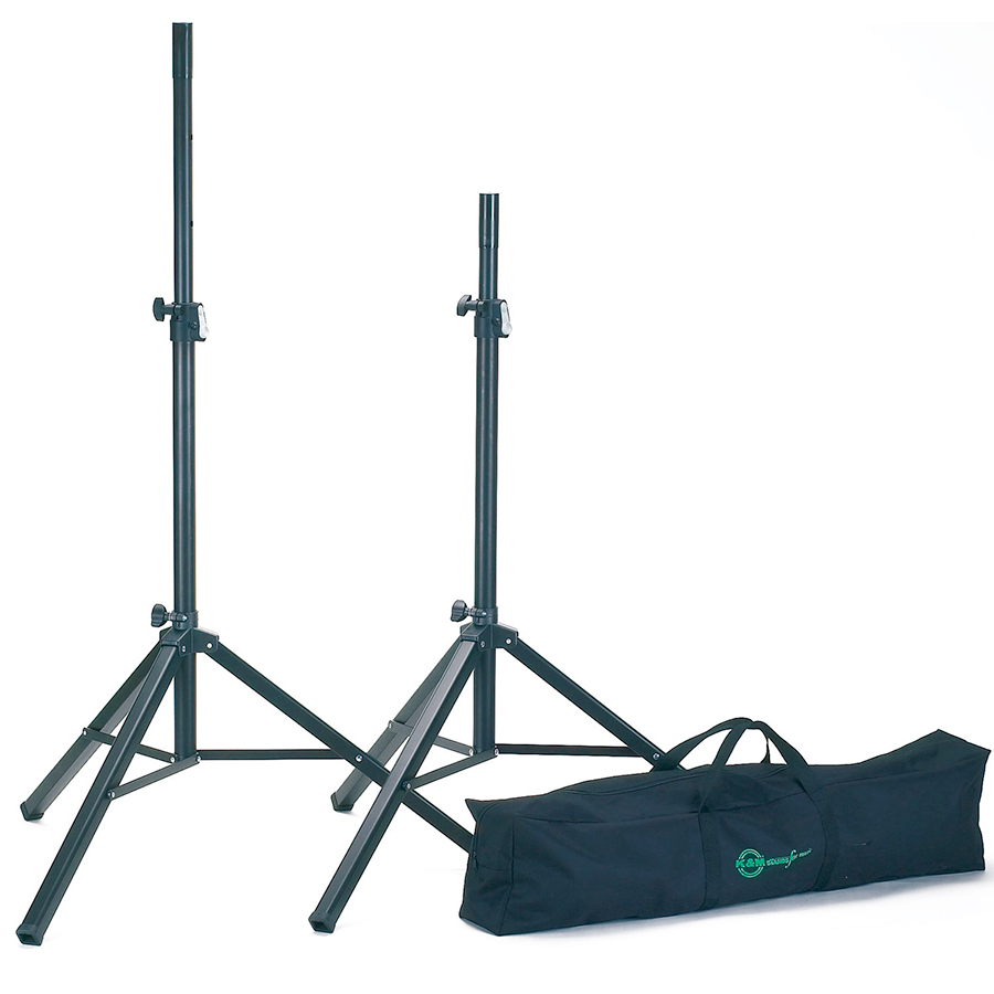 Speaker Stand Pair with Carrying Bag