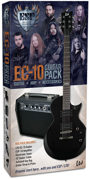 LTD EC-10 Pack - Black