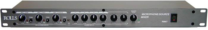 RM67 Mic/Source Mixer