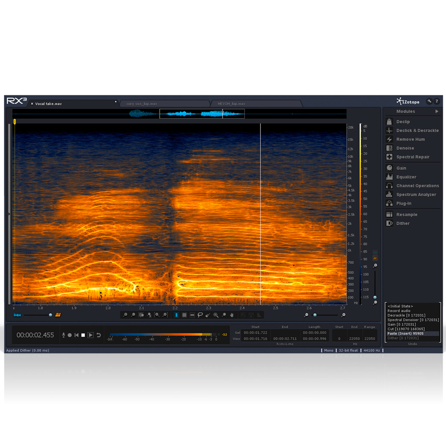 iZotope RX 3 - Digital Download View 2
