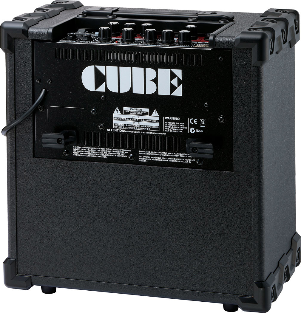 Roland Cube-20XL Rear View