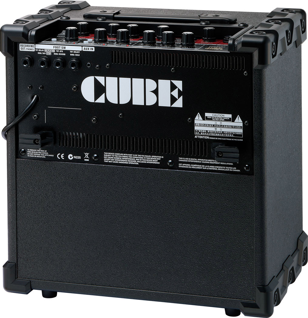 Roland Cube-40XL Rear View