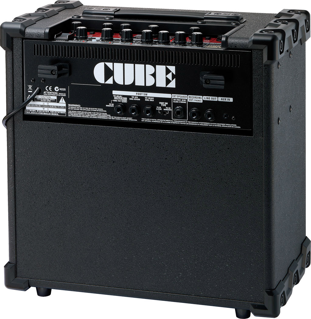 Roland Cube-80XL Rear View