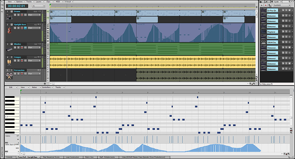 Cakewalk Sonar X1 Producer Screenshot View 3