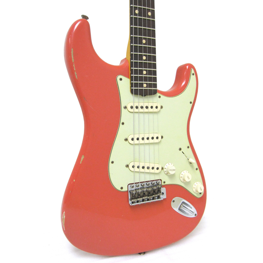 Fender  Custom Shop 1960 Stratocaster Relic Fiesta Red Front Body