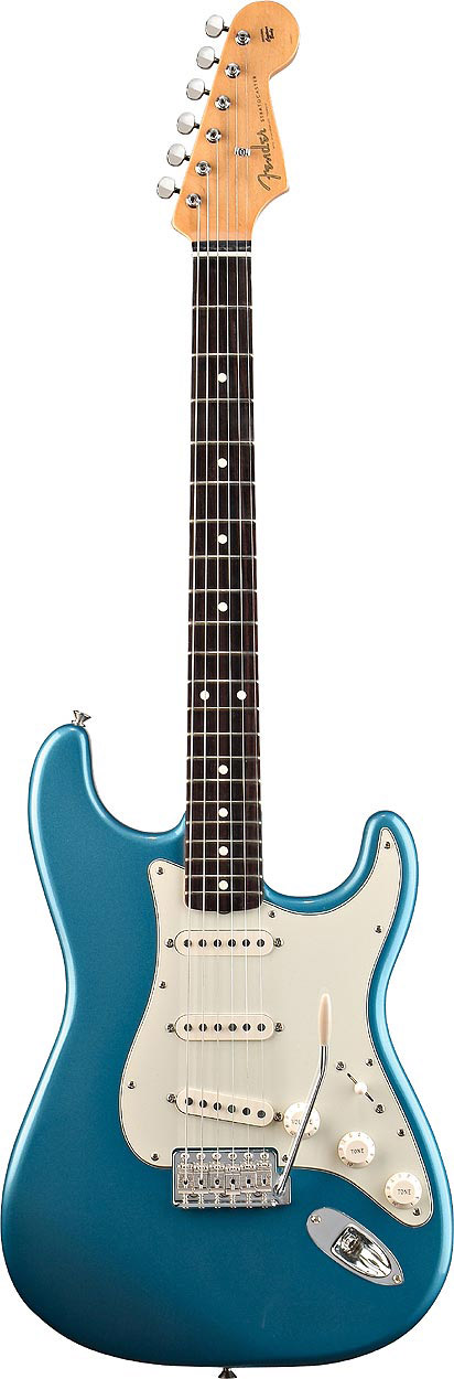 60s Stratocaster® - Lake Placid Blue with Gig Bag