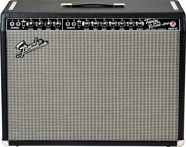65 Twin Reverb - Black
