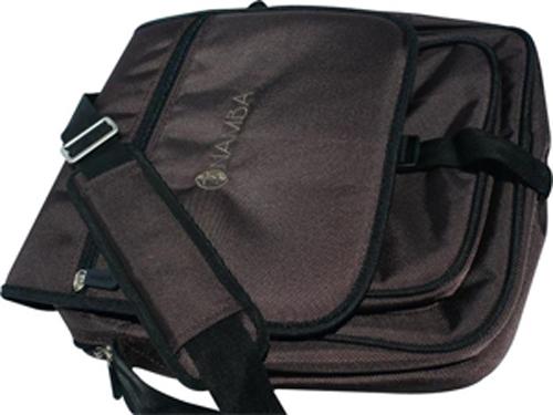 Shaka Laptop Messenger Bag - Mayan Brown/Bronze