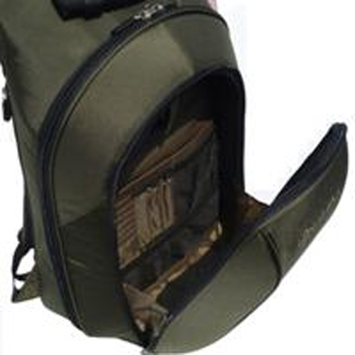 Namba Gear Big Namba Studio Backpack - Green/Bronze View 2