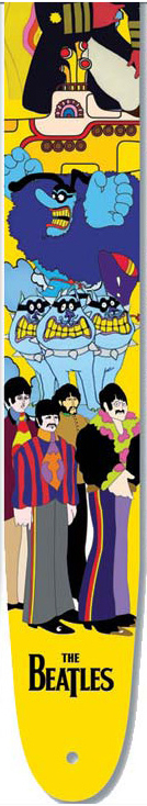 Planet Waves Beatles Strap Collection Yellow Submarine