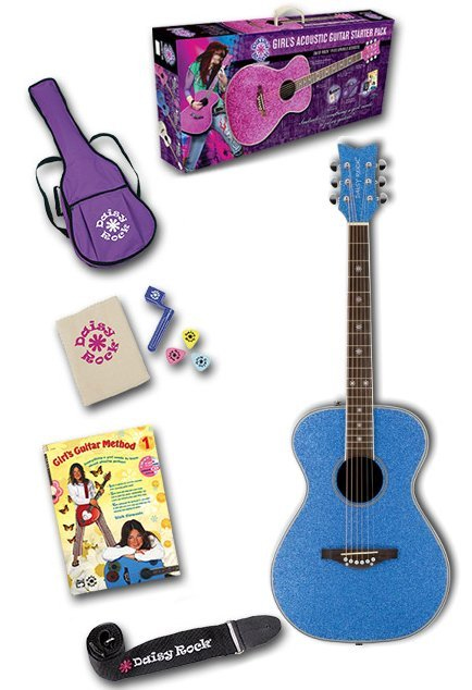 Pixie Acoustic Starter Pack - Blue Sparkle