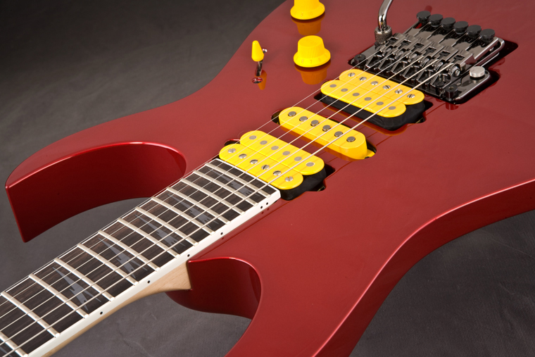 Ibanez Prestige RG3570Z - Candy Apple View 2