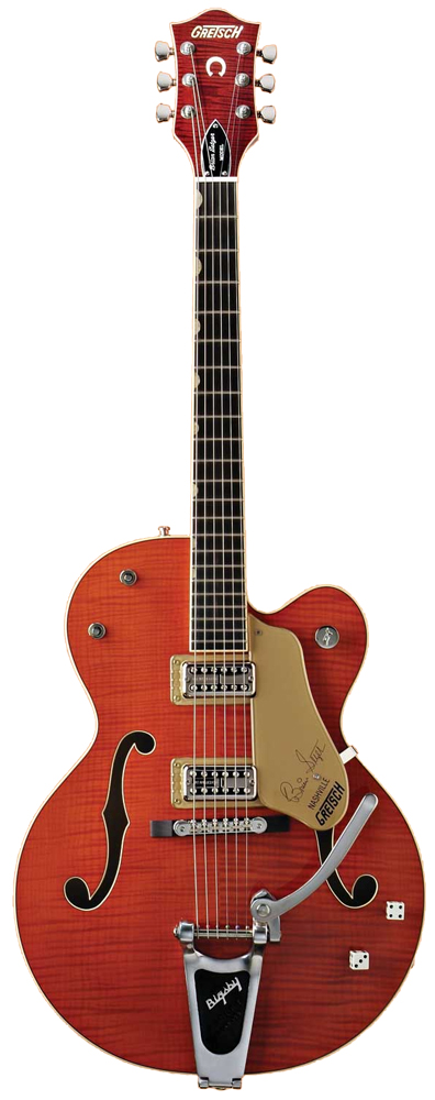 G6120SSU Left-Handed Brian Setzer - Orange Stain