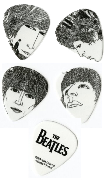 Planet Waves Beatles Revolver Picks Thin View 2
