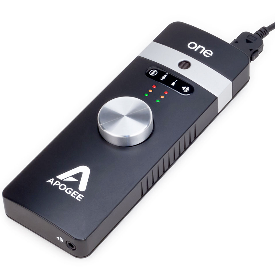 Apogee ONE IOS Angled View