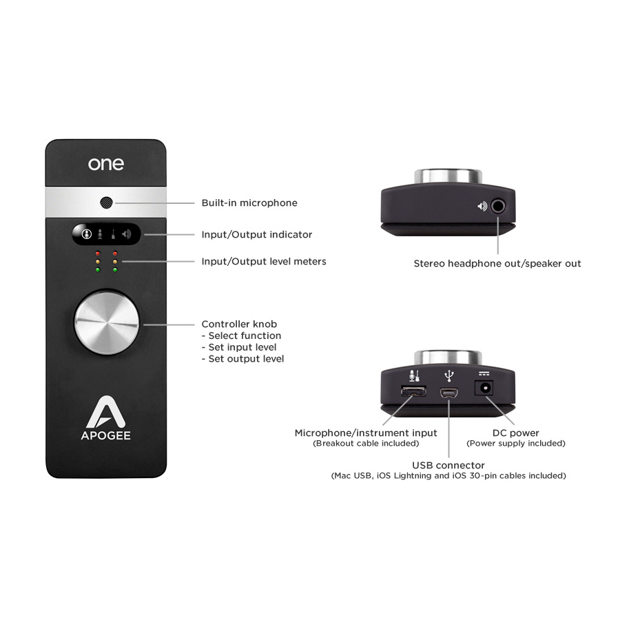 Apogee ONE IOS View 5