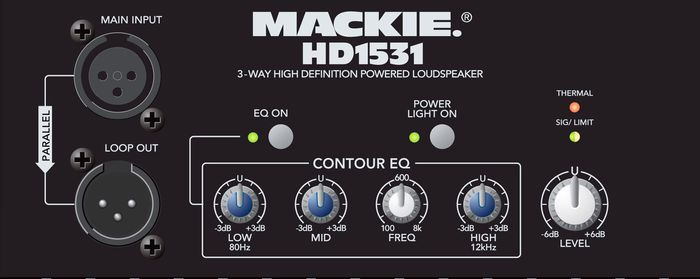 Mackie HD1531 View 2