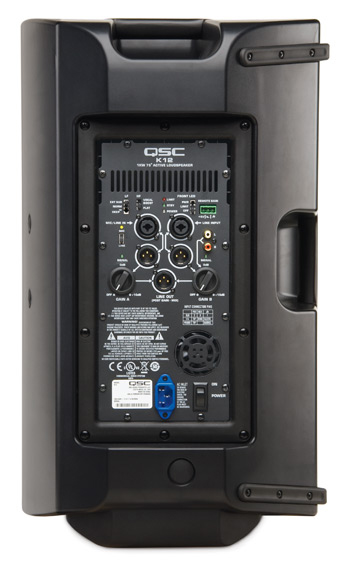 QSC K12 K Series Portable Active 12 inch 2 Way View 3