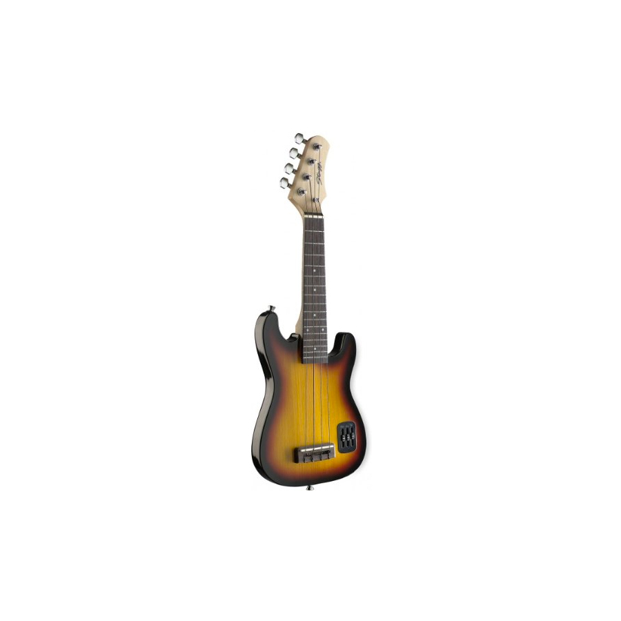 Electric S Solid Body Ukulele - Sunburst