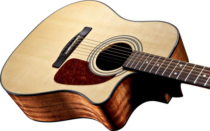 Fender CD-140SCE Natural View 2