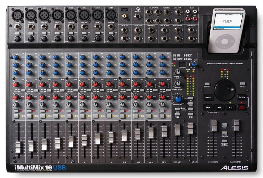 Alesis iMultiMix 16USB View 2
