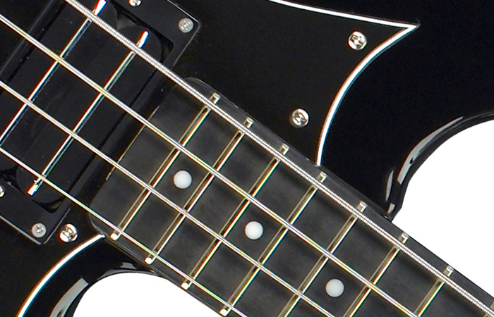 Hagstrom HB-4 Black Gloss View 2