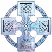 Ultimate Support CUSTOM-2 Celtic Cross Base Detail