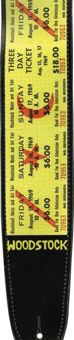 Planet Waves Woodstock Strap Collection Tickets