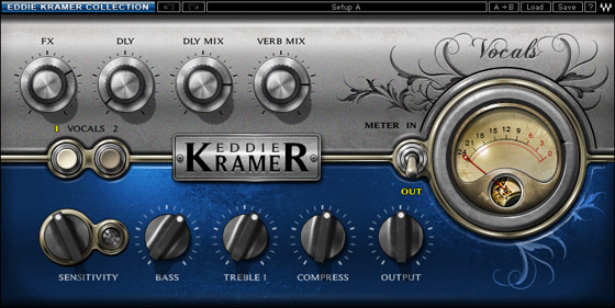 Waves Eddie Kramer Artist Signature Collection  - Native Digital Download Voice Channel