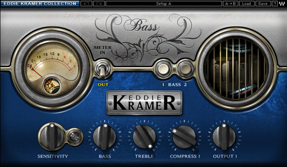 Waves Eddie Kramer Artist Signature Collection  - Native Digital Download Bass Channel