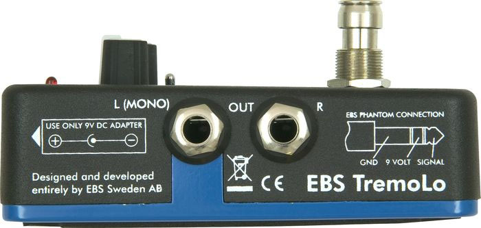 EBS Tremolo Side View