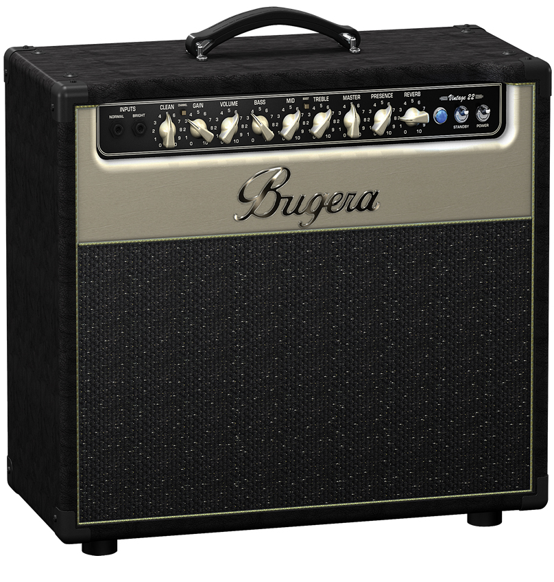 Bugera V55 Hand Wired Tube Amp Angled View