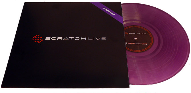 Serato Scratch Live - Purple