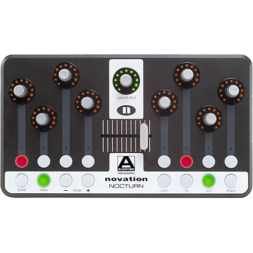 Novation Nocturn Top View