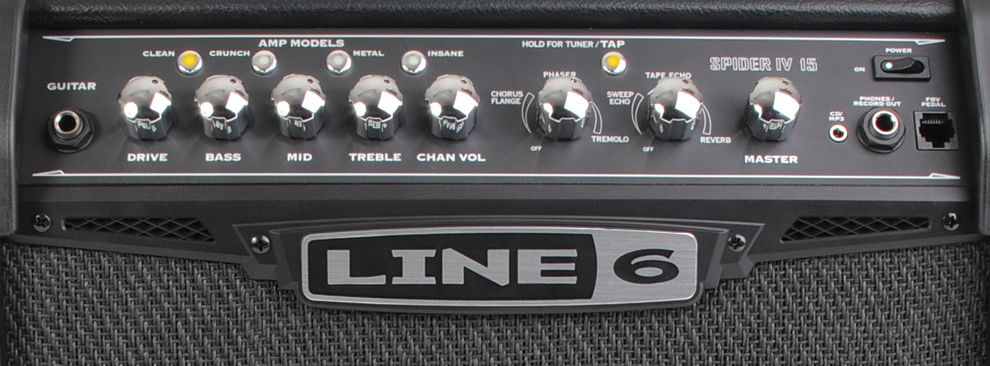 Line 6 SPIDER IV 15 View 2