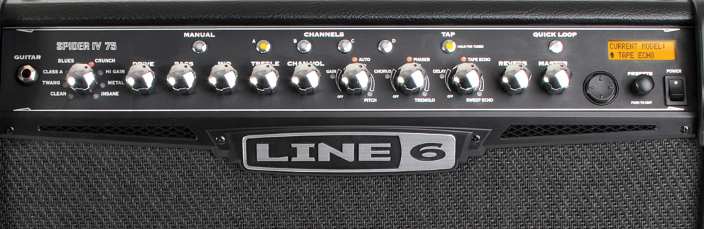 Line 6 Spider IV 75 View 2