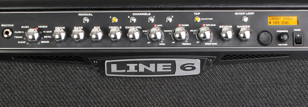 Line 6 Spider IV 150 View 2