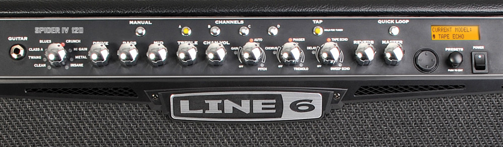 Line 6 Spider IV 120 View 2