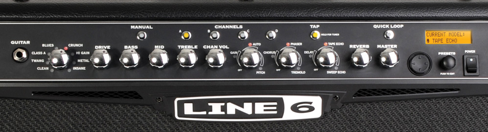 Line 6 Spider IV HD150 View 2