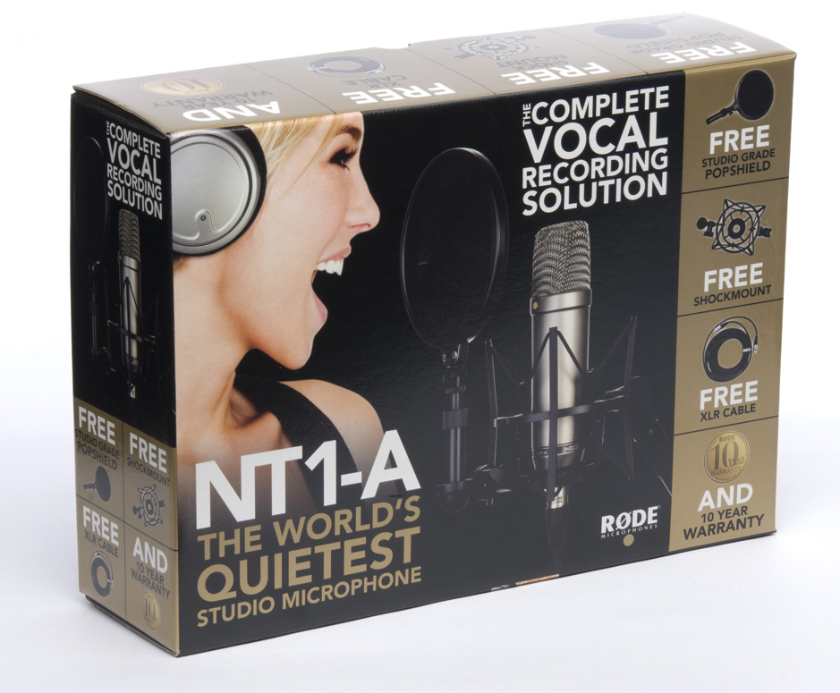 Rode NT1A Complete Recording Solution Box View