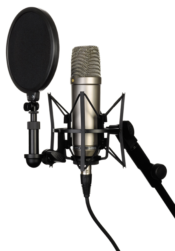 Rode NT1A Complete Recording Solution Shockmount and Popshield