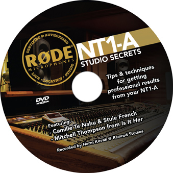 Rode NT1A Complete Recording Solution DVD
