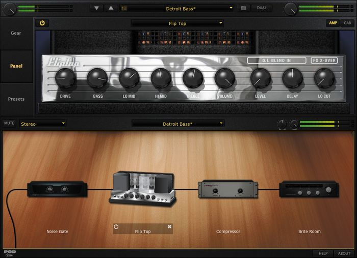 Line 6 POD Studio GX Screenshot 1