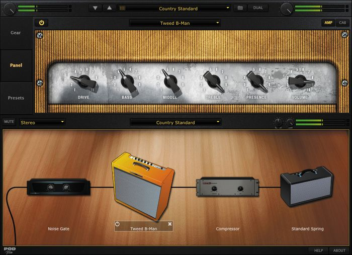 Line 6 POD Studio GX Screenshot 2