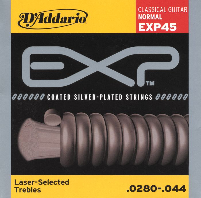 EXP45 Classical Gutiar Coated Nylon Strings